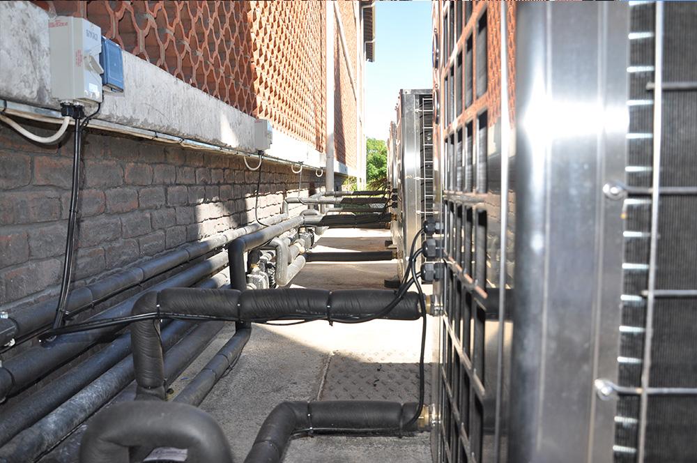 Thermowise - Cutty Sark Heat pump installation 2