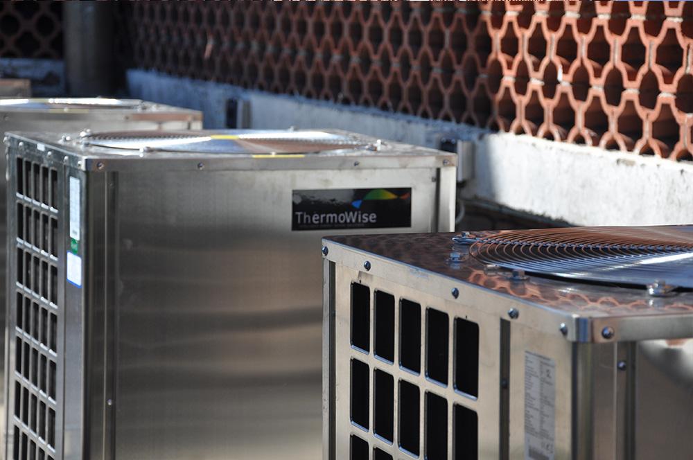 Thermowise - Cutty Sark Heat pump installation 3