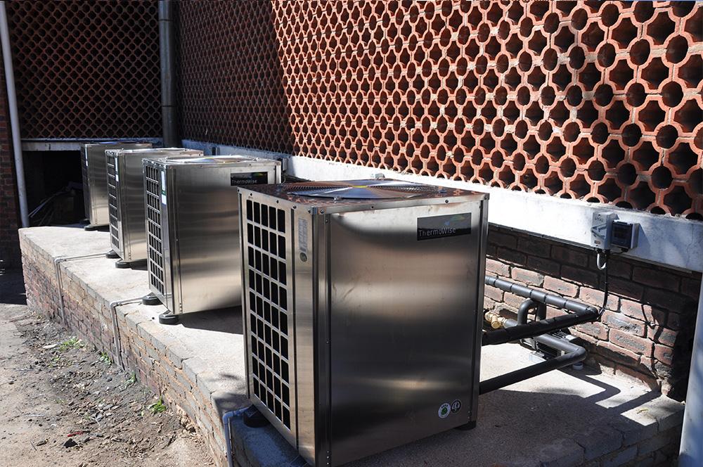 Thermowise - Cutty Sark Heat pump installation 4