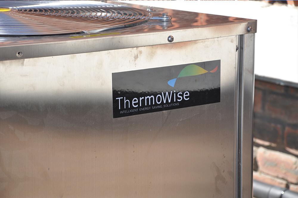 Thermowise - Cutty Sark Heat pump installation 5