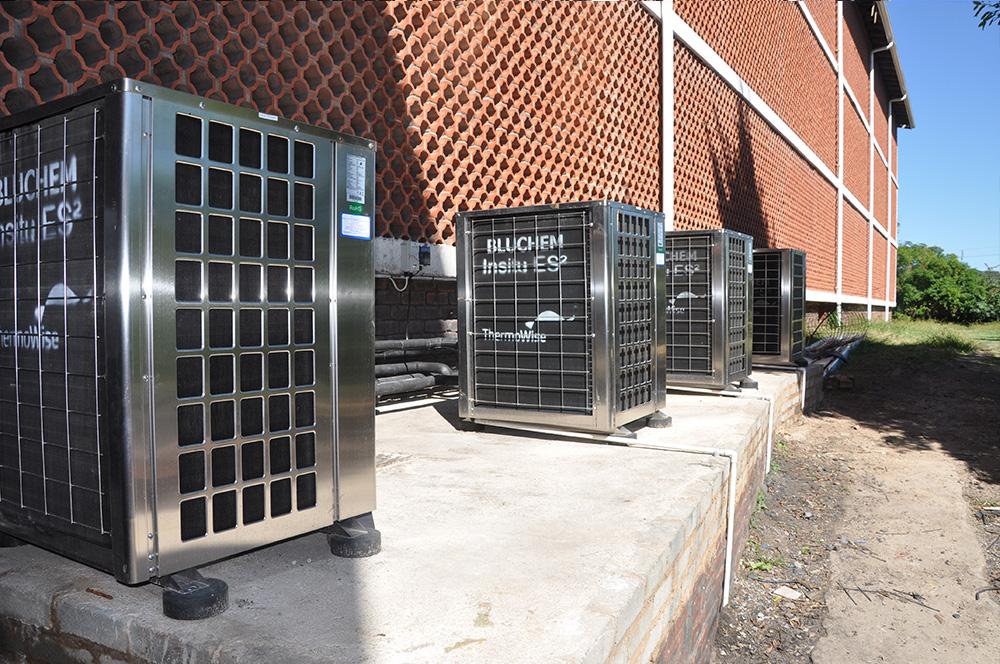 Thermowise - Cutty Sark Heat pump installation 7