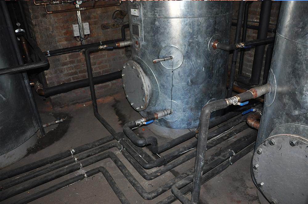 Thermowise - Cutty Sark Heat pump installation 9