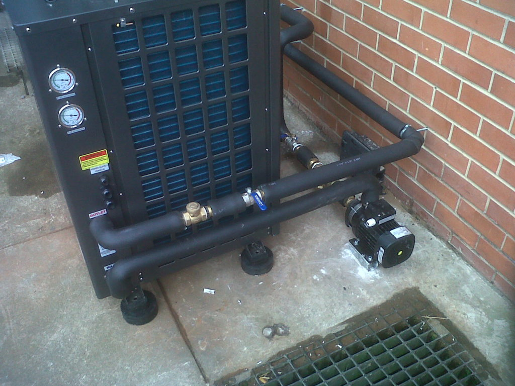 Thermowise - Federal Mogul Heat pump installation 1