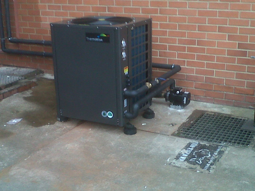 Thermowise - Federal Mogul Heat pump installation 6