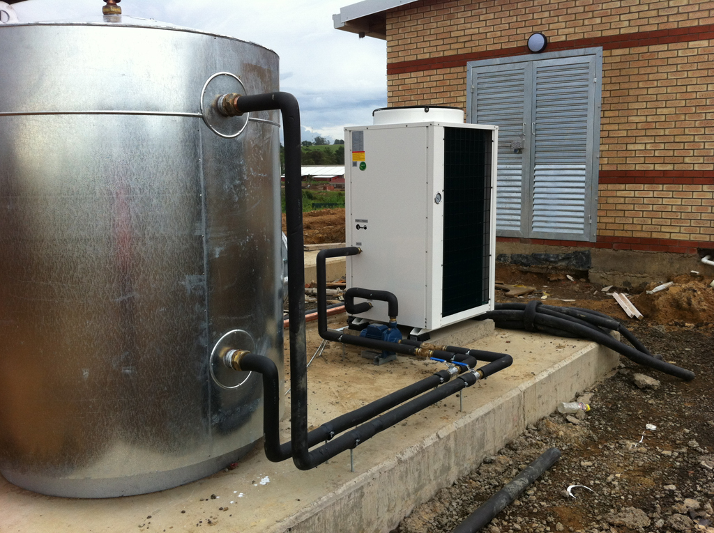 Thermowise On Site heat pump and tank installation 3