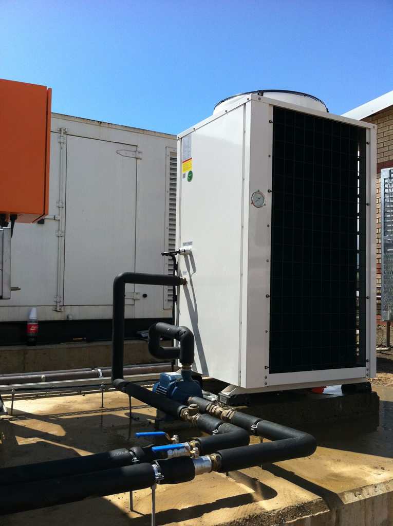 Thermowise Heat Pump site installation