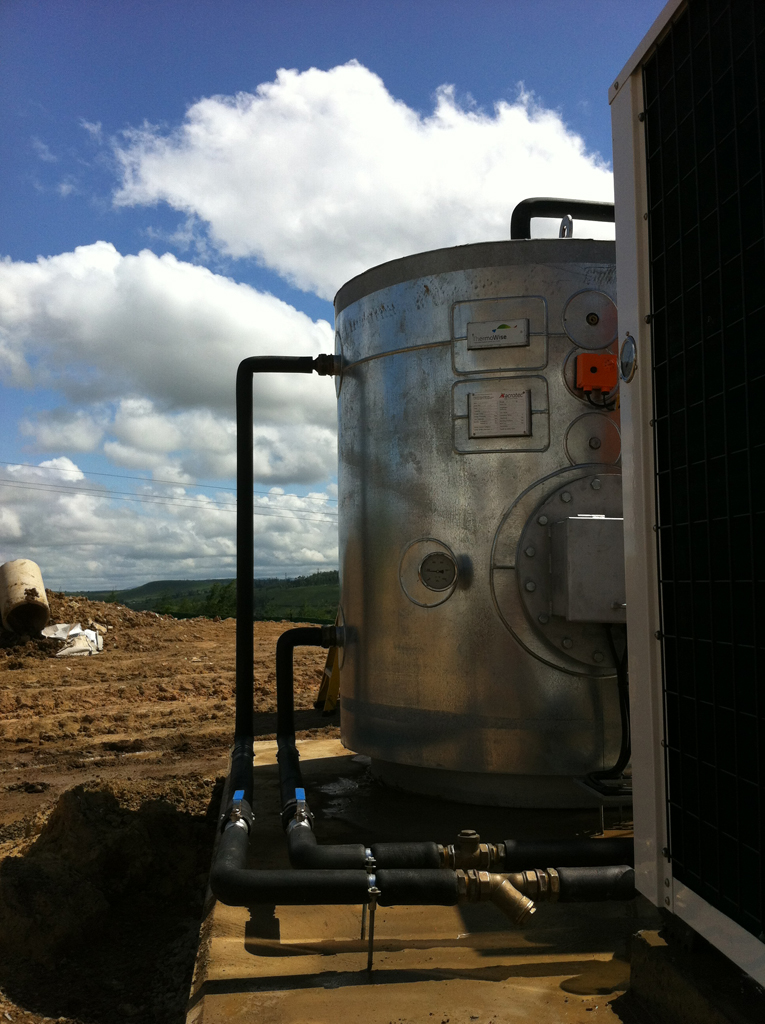 Thermowise tank installation
