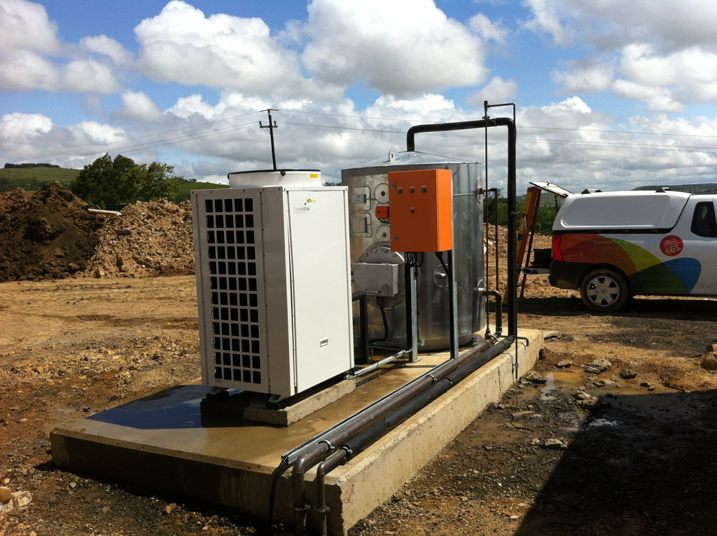 Thermowise On Site heat pump and tank installation 5