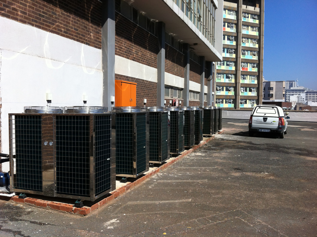 Thermowise - Coastlands Hotel Heat pump installation 2