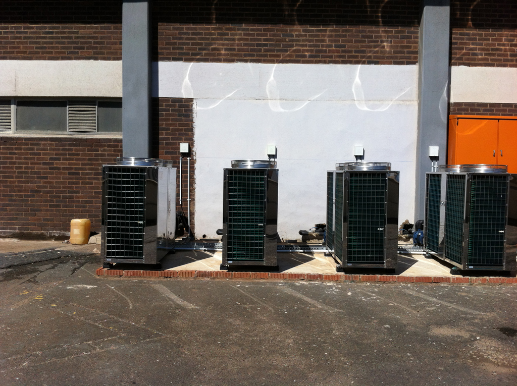Thermowise - Coastlands Hotel Heat pump installation 3