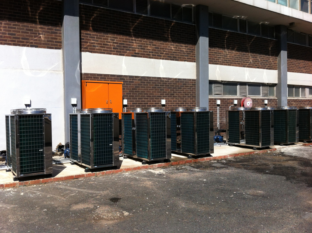 Thermowise - Coastlands Hotel Heat pump installation 4