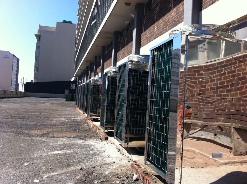 Thermowise - Coastlands Hotel Heat pump installation 5