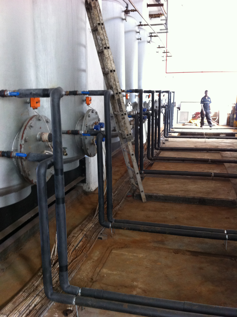 Thermowise - Coastlands Hotel Tank installation 1