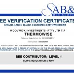 ThermoWise achieves a Level 1 BEE Status