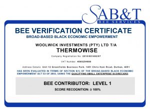 Thermowise-BEE-Certificate-Level-1