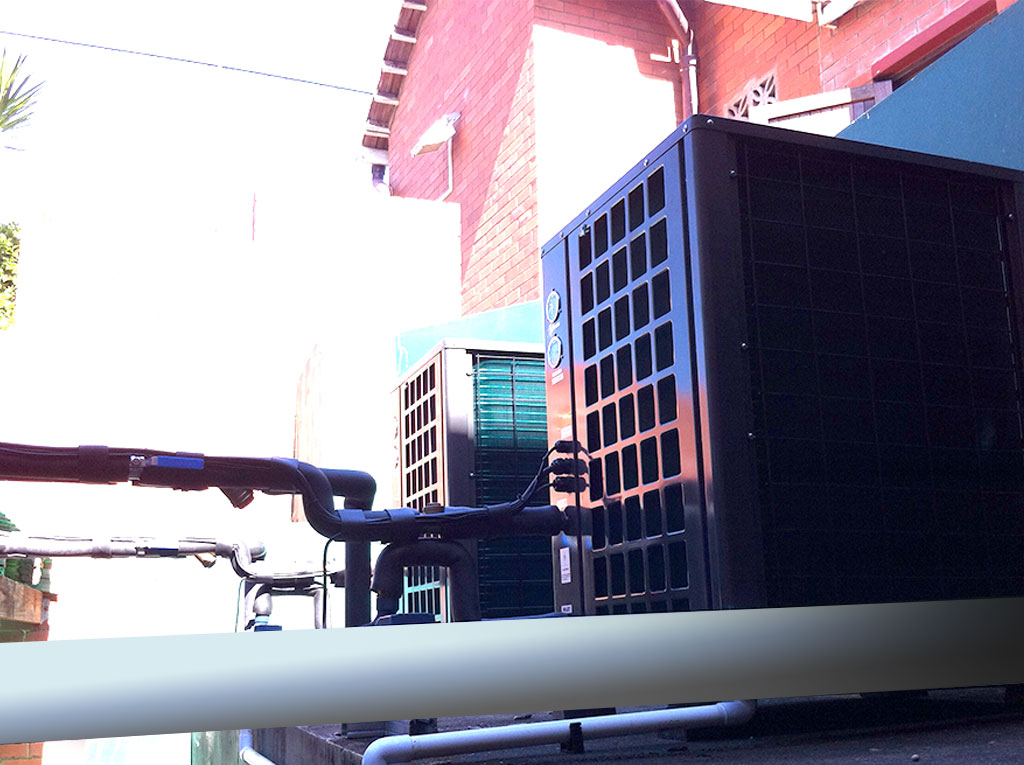 Durban Girls College installation image of TKRS 200E SN M Heat Pump