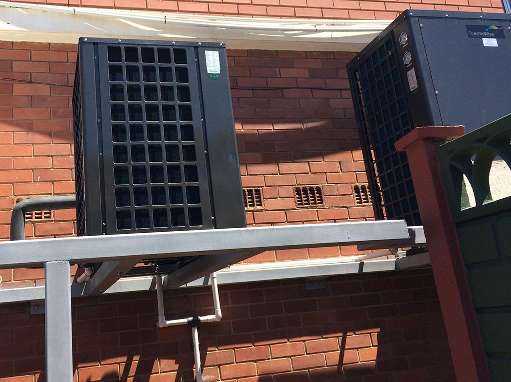 Glenwood Boys installation of TKRS 450E N2 M Heat Pump View 5