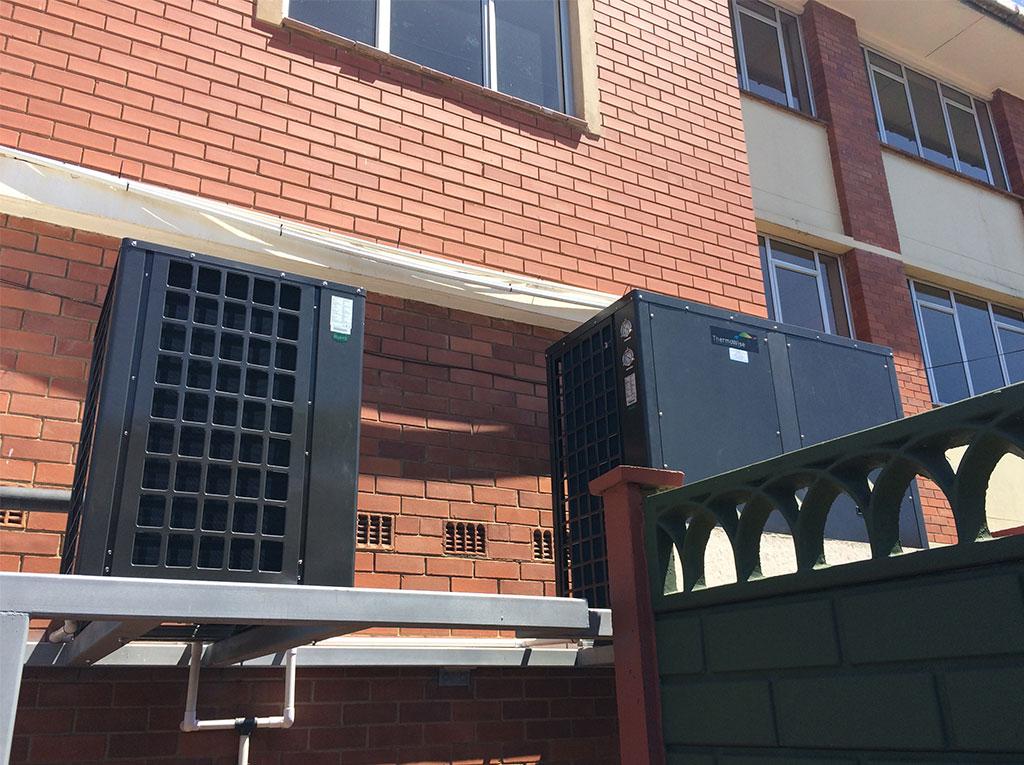 Glenwood Boys installation of TKRS 450E N2 M Heat Pump View 1