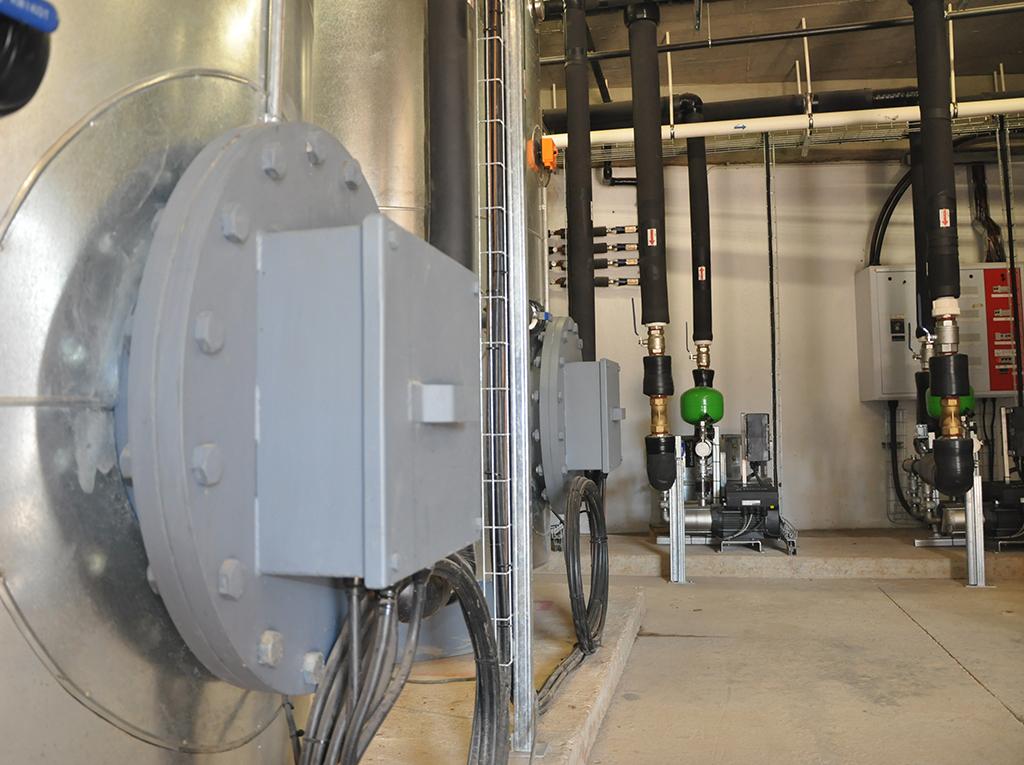 Hilton Hospital Plant Room reticulation installation