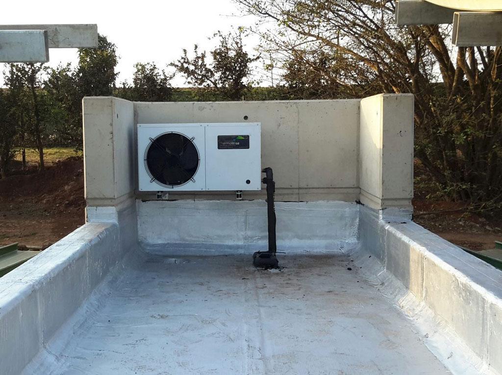 Illovo Training Academy AXHW 03 3kW Heat Pump Second install