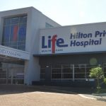 Main entrance of Life Hilton Private Hospital
