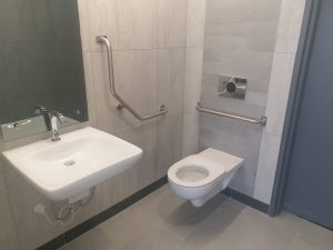 ABSA Towers toilets
