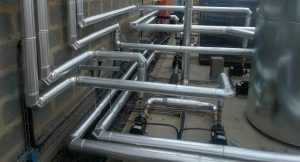 IDA Piggery hot water installation