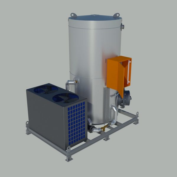Skid Mounted Hot Water Generation Plant